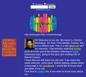 ChrisMaGR_Geocities